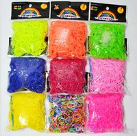 Wholesale New Loom Bands Looms Rubber Bands Loom Bracelets bands clips Fast Delivery