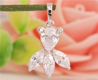 beautiful goldfish - CUTE PC Sterling Silver Clear CZ Cubic Zirconia Beautiful Goldfish Pendant