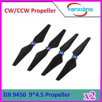 Wholesale 2pcs Pairs New High Efficient Self locking Carbon Fiber CW CCW Propeller Prop For DJI Phantom Vision FC40 ZY DJI