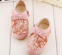 Wholesale 2015 Spring Child Lace Flower Mesh Breathable Cutout Shoes Baby Soft Toddler Soles Lace Kids Princess Leather Shoes e