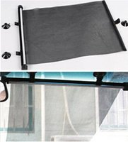auto window curtains - Car Slide Window Sunshade Slide Sun shield CM Auto Slide shield Curtain Cover for Slide Window Car Sun Block Sun Visor LJJE168