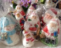 craft candle - Christmas gift candles christmas crafts candles snowman Candles christmas candles for Christmas Festive in stock