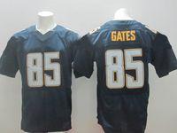 Men Short Nylon 2014 New Style #85 Antonio Gates Navy Blue Elite American Football Jerseys #17 Philip Rivers #13 Keenan Allen #50 Manti Te'o Football Shirts