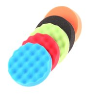 Wholesale 5Pc inch mm Polishing Pad Buffing Pad Set For Car Polisher Detail Polishing