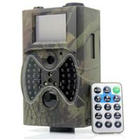 Caméra de chasse de scoutisme extérieur HD 1080P GPRS MMS numérique caméra infrarouge de chasse de chasse GSM 2.0 'LCD IR Hunter Cam