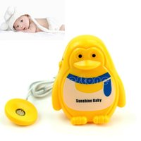 Cheap W110- Free Shipping 1PC Cute Adult Baby Bedwetting Enuresis Urine Bed Wetting Wet Diaper Alarm +Sensor