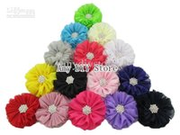 ballerina accessories girls - xayakids NEW Baby girls Hair accessories Hot Sale Ballerina Flowers Chiffon Flower with Starburst Button COLORS HH0