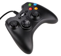Wholesale New Black Wired USB Game Controller Gamepad Joystick Joypad for PC Computer Laptop