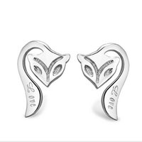Wholesale Isabel jewelry factory Korean Fashion S925 sterling silver earrings female Firefox Recruitment Agency