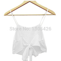Wholesale Hot New Fashion Sexy Women Sleeveless Camisole Shirt Summer Casual T Shirts Crop Tops