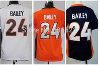 bailey mix - Factory Outlet Champ Bailey Kid Jersey Youth Football Jersey Embroidery and Sewing Size S XL Accept Mix Order
