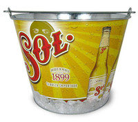 Wholesale 5L Good Quality Powder Coating Galvanized Metal Buckets