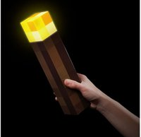 light up toys - Minecraft toy Minecraft Light up Torch Minecraft Wall Torch by Think Geek ORIGINAL Gift box IN STOCK SAME DAY SHIPPING