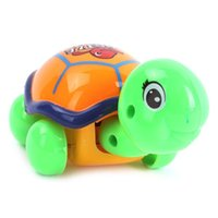 Wholesale Plastic Wind up Movement Tortoise Safety Turtle Clockwork Walking Toys Cute