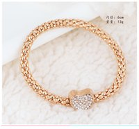 best free shell - best gift cheap hot Alloy CZ Crystal gemstone fashion jewelry cross moon charms Wedding bracelet