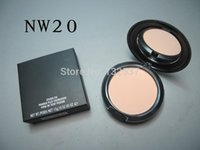 Wholesale 1PCs Hot cheap MC Brand Makeup Studio Fix Powder Plus Foundation nw20 nw30 nw35 nw40 nw42 nw43 nw45 nw50 nw55
