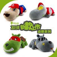 Wholesale Poly play off animation alliance series of car car bamboo charcoal bag dog dog turtles super Marie