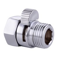 temperature controlled water valves - KES Shower Pressue Valve Solid Brass Water Control Valve Shut Off Valve for Bidet Sprayer or Shower Head Polished Chrome