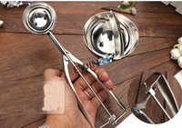 Wholesale New Stainless Steel cm Scoop for Ice Cream Mash Potato Food Spoon Kitchen Ball