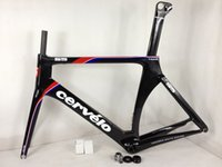 Cheap cervelo S5 full carbon fiber road bike frame frameset bicycle Red S5 VWD TEAM customized color black green cycling frame free shipping