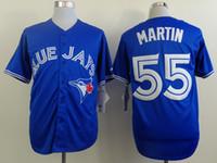 TORONTO BLUE JAYS JERSEYS - 5 Days shipping Men s Toronto Blue Jays Jerseys Russell Martin Baseball Jersey Embroidery Names Logos Size M XXXL