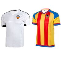 DHL superior libre del envío calidad de Tailandia 2015-2016 Temporada maillot Valencia hogar lejos camiseta de fútbol de fútbol A.NEGREDO Paco Alcácer