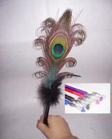 Gros-plume plume autruche stylo plume signature de mariage stylo plume d'autruche bille pen26-28cm