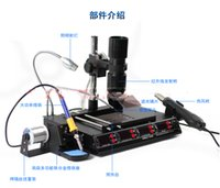 Wholesale YIHUA B Functions in Infrared Bga Rework Station SMD Hot Air Gun W Soldering Irons W Preheating