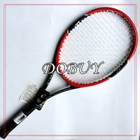 tennis racquets - 1 piece PRO STAFF Tennis Racket Carbon High Quality Tennis Racquets With String Bag Grip Size L2 L3