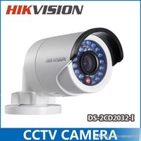 Wholesale 2014 Hikvision Original Gun Waterproof Security Network CCTV Camera DS CD2032 I MP IR IP Camera H2470 A5