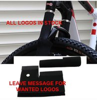 Wholesale Hotsale ALL LOGO cycle Front Fork Protect Case cover Bike Shock Cover For MTB Fork Protective Sleeve cover Drop shipping B042
