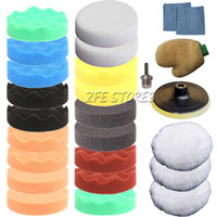 Wholesale 26Pcs mm Higher Gross Polishing Buffer Pad Kit for Car M14 Thread