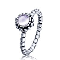 august birthdays - 925 Sterling Silver August Birthday stone with Austrian Crystal Love Heart Rings For Women Summer Style Party Female Jewelry X896