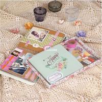 album scrapbook kit - Memory Planner DIY Handmade Birthday Scrapbook Photo Album Vintage Chipboard Scrapbook Album Kit For Gift