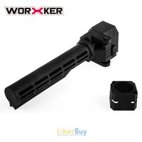 Wholesale worker Modify Black Folding Stock for Nerf N Strike Elite Retaliator
