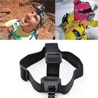 Wholesale 2016 Gopro Adjustable Head Belt Camera Headband Mount For Gopro Hd Hero Xiaomi Yi SjCAM Sj5000 Sj4000
