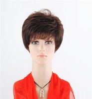 Cheap Versatile Synthetic Short Wigs Best Short Curly Fluffy Hair Wigs 20pcs Lot