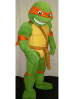 Wholesale Teenage Mutant Ninja Turtle Mascot Costume Adult Character Costume