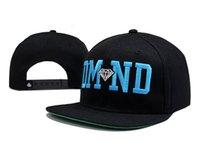 baseball cap companies - black DMND diamond supply co snapback caps cheap high quality diamond company snap back hats for men women baseball cap TY