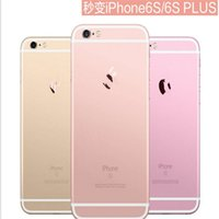 Wholesale New iphone6 Luxury Rose Gold Stickers Full Body Screen Protector Colorful Film Skin Back Cover for Iphone S Plus plus inch