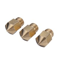 Wholesale New D Printer Nozzle Mixed Sizes mm mm mm mm mm Brass Sprinkler Extruder Head For Makerbot MK8