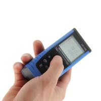 Wholesale 1pc Professional m ft Handheld Digital Laser Distance Meter Measurer Measurement Range Finder Laser Range finder