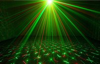 Others Auto 110V Wholesale-20 in 1 Mini DMX Red Green Led Moving Head Lighting Laser Projector Party Stage Light Disco DJ Controller Lights equipment