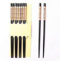 antique panda - Antique Black bamboo Cute panda wood chopsticks hairstick set Pairs amp