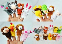 Wholesale Plush Toy Doll Toys Plush Toy New Zodiac Doll Toys Baby Lovely Cartoon Hand Accidentally Cute animal Finger Puppets Refers to Accidentall