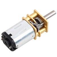 Wholesale N20 DC V Gear Motor of Miniature Low speed Stepper Motor Metal Gear Box Gearwheel Model mm Shaft Diameter
