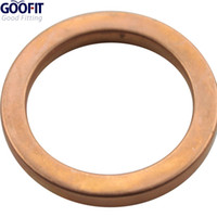 Wholesale GOOFIT Exhaust Pipe Gasket for Motorcycle ATV Scooter Dirt Bike Go Kart Moped L087 order lt no track