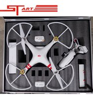 Wholesale 2014 Dji phantom FPV Professional aluminum case box outdoor protection for DJI Phantom Vision X350 pro easy to carry Toy kids