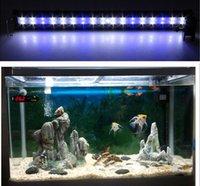 aquarium tank light - Fish Tank Lights Aquarium Light L W LED Blue White Light With Aquarium Clip Lamp In Black