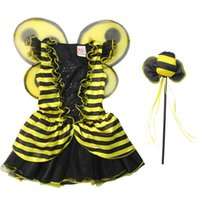bee suppliers - Professional Party Supplier Kids Birthay Party Bumble Bee Theme Kids Performance Wear Cosplay Costume for kids cm cm